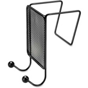 Fellowes Double Hook Mesh Partition Mount Black