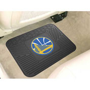 "NBA - Golden State Warriors - Heavy Duty Vinyl Utility Mat 14"" x 17"" - 10021"