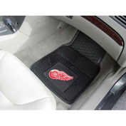 "NHL - Detroit Red Wings - Heavy Duty Vinyl 2 Piece Car Mat Set 17""W x 27""L - 10380"