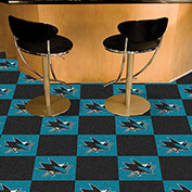 San Jose Sharks Team Carpet Tiles