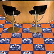 Edmonton Oilers Team Carpet Tiles