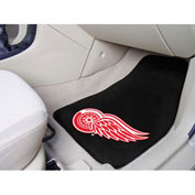 "NHL - Detroit Red Wings - 2 Piece Carpeted Car Mat Set 17""W x 27""L - 10724"