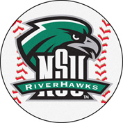 "Fan Mats Northeastern State University Baseball Mat 26"" Dia. - 14108"