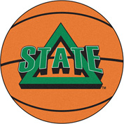 "Fan Mats Delta State University Basketball Mat 26"" Dia. - 14131"