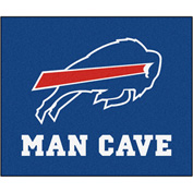 "Fan Mats NFL - Buffalo Bills Man Cave Tailgater Rug 60"" X 72"" - 14275"