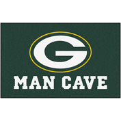 "Fan Mats NFL - Green Bay Packers Man Cave Ulti-Mat Rug 60"" X 96"" - 14306"
