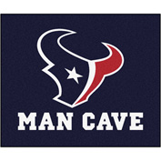 "Fan Mats NFL - Houston Texans Man Cave Tailgater Rug 60"" X 72"" - 14311"