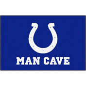 "Fan Mats NFL - Indianapolis Colts Man Cave Starter Rug 19"" X 30"" - 14313"