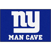 "Fan Mats NFL - New York Giants Man Cave Starter Rug 19"" X 30"" - 14341"