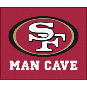 "Fan Mats NFL - San Francisco 49Ers Man Cave Tailgater Rug 60"" X 72"" - 14367"