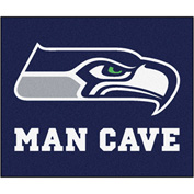 "Fan Mats NFL - Seattle Seahawks Man Cave Tailgater Rug 60"" X 72"" - 14371"