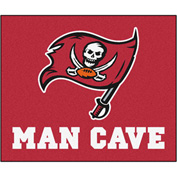 "Fan Mats NFL - Tampa Bay Buccaneers Man Cave Tailgater Rug 60"" X 72"" - 14379"