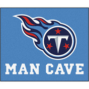 "Fan Mats NFL - Tennessee Titans Man Cave Tailgater Rug 60"" X 72"" - 14384"