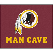 "Fan Mats NFL - Washington Redskins Man Cave Tailgater Rug 60"" X 72"" - 14388"
