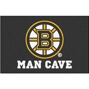 "Fan Mats NHL - Boston Bruins Man Cave Starter Rug 19"" X 30"" - 14394"