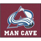"Fan Mats NHL - Colorado Avalanche Man Cave Tailgater Rug 60"" X 72"" - 14416"