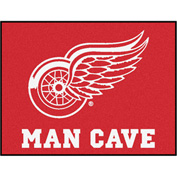 "Fan Mats NHL - Detroit Red Wings Man Cave All-Star Mat 34"" X 45"" - 14425"