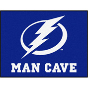 "Fan Mats NHL - Tampa Bay Lightning Man Cave All-Star Mat 34"" X 45"" - 14489"
