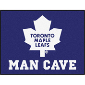"Fan Mats NHL - Toronto Maple Leafs Man Cave All-Star Mat 34"" X 45"" - 14493"