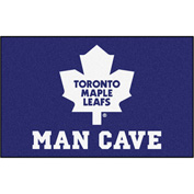 "Fan Mats NHL - Toronto Maple Leafs Man Cave Ulti-Mat Rug 60"" X 96"" - 14495"