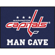 "Fan Mats NHL - Washington Capitals Man Cave All-Star Mat 34"" X 45"" - 14501"