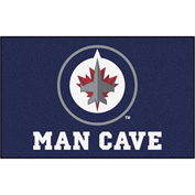 "Fan Mats NHL - Winnipeg Jets Man Cave Ulti-Mat Rug 60"" X 96"" - 14507"