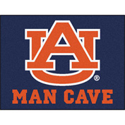 "Fan Mats Auburn University Man Cave All-Star Mat 34"" X 45"" - 14529"