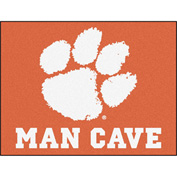 "Fan Mats Clemson University Man Cave All-Star Mat 34"" X 45"" - 14537"