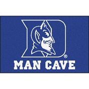 "Fan Mats Duke University Man Cave Starter Rug 19"" X 30"" - 14540"