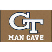 "Fan Mats Georgia Tech Man Cave Ulti-Mat Rug 60"" X 96"" - 14551"