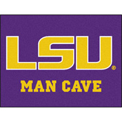 "Fan Mats Louisiana State University Man Cave All-Star Mat 34"" X 45"" - 14565"