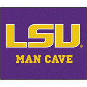 "Fan Mats Louisiana State University Man Cave Tailgater Rug 60"" X 72"" - 14566"