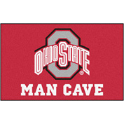 "Fan Mats Ohio State University Man Cave Ulti-Mat Rug 60"" X 96"" - 14587"