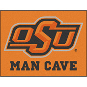 "Fan Mats Oklahoma State University Man Cave All-Star Mat 34"" X 45"" - 14589"