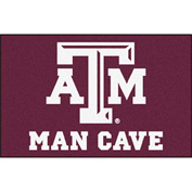 "Fan Mats Texas A&M University Man Cave Starter Rug 19"" X 30"" - 14608"