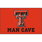 "Fan Mats Texas Tech University Man Cave Ulti-Mat Rug 60"" X 96"" - 14615"