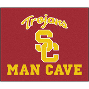 "Fan Mats Univ Of Southern California Man Cave Tailgater Rug 60"" X 72"" - 14626"