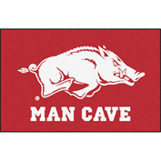 "Fan Mats University Of Arkansas Man Cave Starter Rug 19"" X 30"" - 14628"