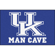 "Fan Mats University Of Kentucky Man Cave Starter Rug 19"" X 30"" - 14652"