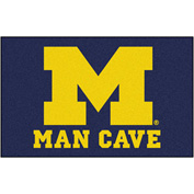 "Fan Mats University Of Michigan Man Cave Ulti-Mat Rug 60"" X 96"" - 14671"