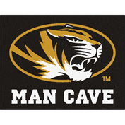 "Fan Mats University Of Missouri Man Cave All-Star Mat 34"" X 45"" - 14677"