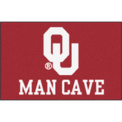 "Fan Mats University Of Oklahoma Man Cave Starter Rug 19"" X 30"" - 14684"