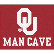 "Fan Mats University Of Oklahoma Man Cave Tailgater Rug 60"" X 72"" - 14686"