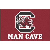 "Fan Mats University Of South Carolina Man Cave Starter Rug 19"" X 30"" - 14692"