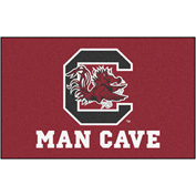 "Fan Mats University Of South Carolina Man Cave Ulti-Mat Rug 60"" X 96"" - 14695"
