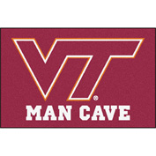 "Fan Mats Virginia Tech Man Cave Starter Rug 19"" X 30"" - 14712"