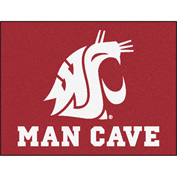 "Fan Mats Washington State University Man Cave All-Star Mat 34"" X 45"" - 14717"
