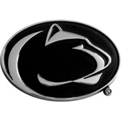 "Penn State - Heavy Duty Chrome 3-D Emblem 2-1/5"" x 3-1/5"" - 14881"