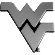 "Fan Mats West Virginia Emblem 3"" X 3-1/5"" - 14944"