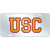 "University of Southern California - License Plate Acrylic Inlaid 6""X12"" - 14974"